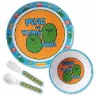 VeggieTales: Peas and Thank You! Mealtime Set: Big Idea Design
