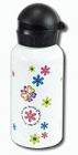 White Small Stainless Steel Water Bottle: Christian Art Gifts