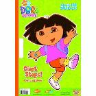 Giant Steps! (Dora the Explorer) [With Over 100 Stickers]: Golden Books &amp; Golden Books