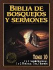 Biblia de Bosquejos y Sermones-RV 1960-1 y 2 Tesalonicenses, 1 y 2 Timoteo, Tito, Filemon: Editorial Portavoz