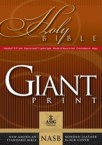 Giant Print Bible-NASB-Handy-Size: AMG Publishers