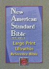 Large Print Ultrathin Reference Bible-NASB