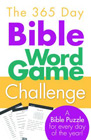 The 365 Day Bible Word Game Challenge: A Bible Puzzle for Every Day of the Year!: Barbour Publishing